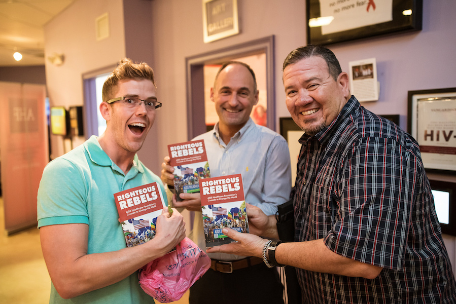 Righteous Rebels book signing
